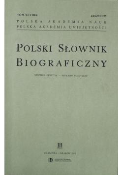 Polski Słownik Biograficzny zeszyt 199