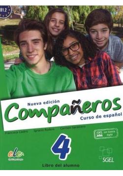 Companeros 4 podręcznik+ licencia digital