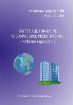 Instytucje formalne w gospodarce przestrzennej