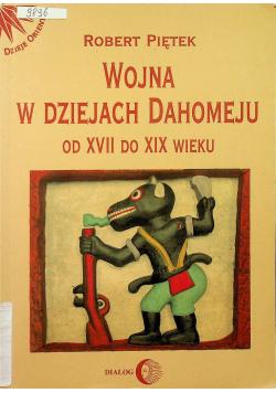 Wojna w dziejach Dahomeju