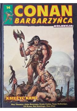 Conan Barbarzyńca 14 Księżyc krwi