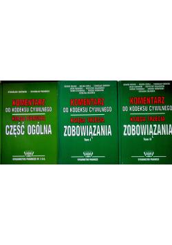 Komentarz do kodeksu cywilnego  tomy od I do III
