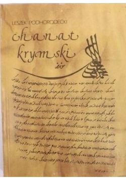 Chanat krymski i jego stosunki z Polską w XV - XVIII w