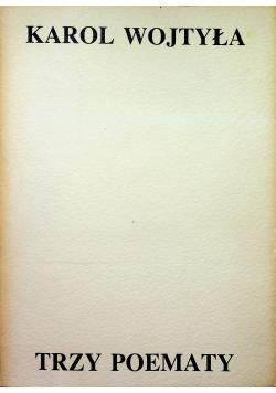 Karol Wojtyła Trzy poematy