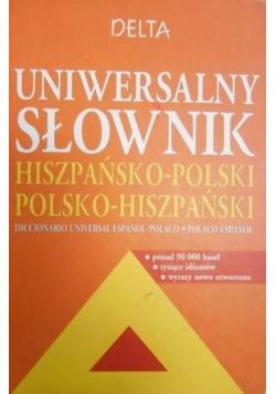 Uniwersalny słownik hiszpańsko-polski i polsko-hiszpański