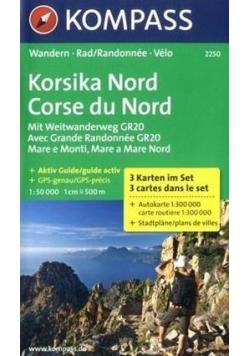 Korsika Nd 1:50 000 Kompass