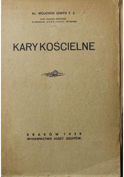 Kary kościelne 1929 r.