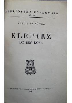 Kleparz do 1528 roku 1932 r.