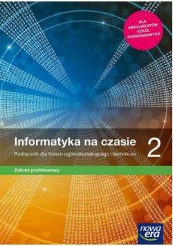 Informatyka LO 2 Na czasie Podr. ZP NE