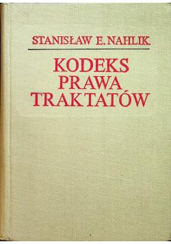 Kodeks prawa traktatów