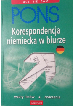 Korespondencja niemiecka w biurze