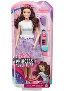 Barbie Przygody księżniczek Lalka GML71