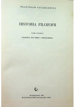 Historia filozofii Tom III
