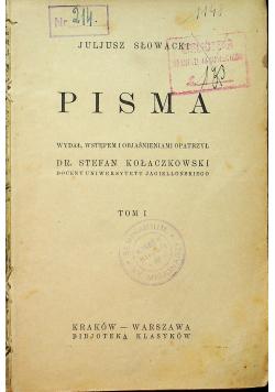Słowacki Pisma tom I