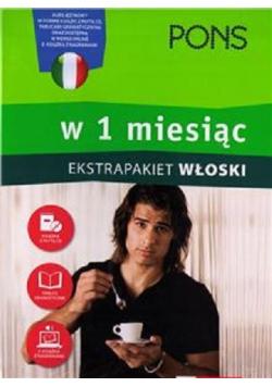 Włoski w 1 miesiąc Ekstrapakiet