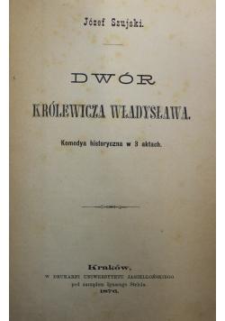 Dwór królewicza Władysława 1876 r
