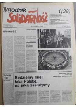 Tygodnik Solidarność 19 numerów