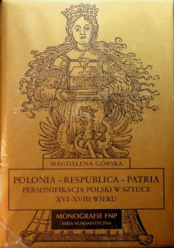 Polonia Respublica Patria Personifikacja Polski w sztuce