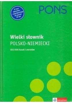 Wielki słownik polsko-niemiecki PONS