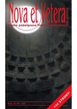 Nova et Vetera nr 1