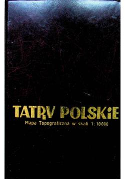 Tatry Polskie Mapa Topograficzna 15 arkuszy
