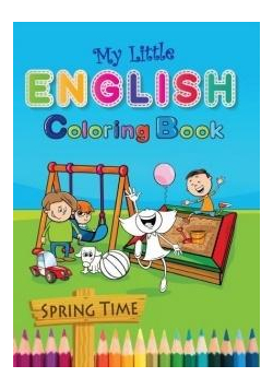My Little English Coloring Book