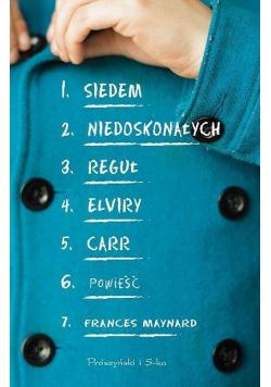 Siedem niedoskonałych reguł Elviry Carr DL