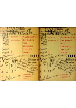 Vademecum do badań nad historią XIX i XX wieku 2 tomy