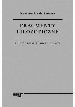 Fragmenty filozoficzne