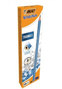 Ołówek Evolution Triangle trójkątny (12szt) BIC