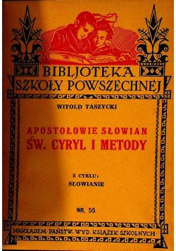 ŚŚ Cyryl i Metody 1933 r