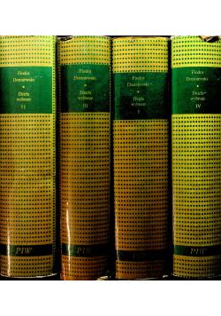 Dostojewski dzieła wybrane 4 tomy