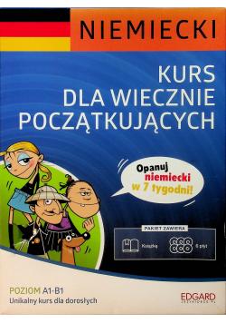 Niemiecki Kurs dla wiecznie początkujących plus 6 płyt CD