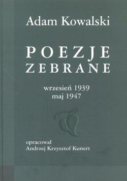 Poezje zebrane Wrzesień 1939 maj 1945