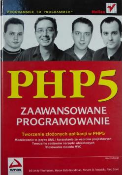 PHP 5 zaawansowane programowanie