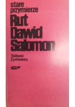 Stare Przymierze Rut  Dawid Salomon