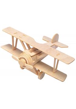 Łamigłówka drewniana Gepetto - Dwupłatowiec G3
