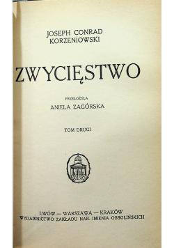 Zwycięstwo 2 tomy ok 1927 r.