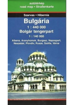 Mapa samochodowa - Bułgaria 1:440 000