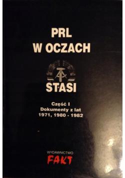 PRL w oczach Stasi  Część I