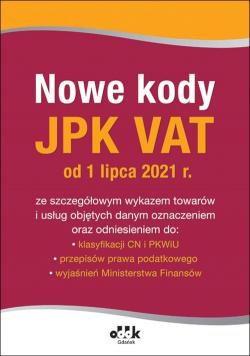 Nowe kody JPK VAT od 1 lipca 2021 PGK1436