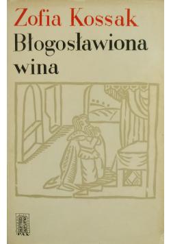 Błogosławiona wina