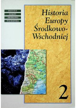 Historia Europy Środkowo Wschodniej tom II