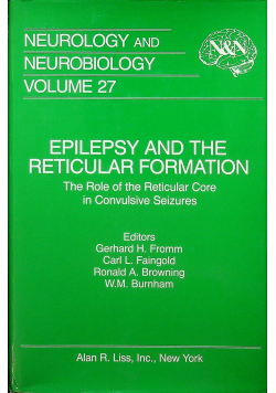Epilepsy and the Reticular Formation