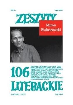 Zeszyty literackie 106 2/2009