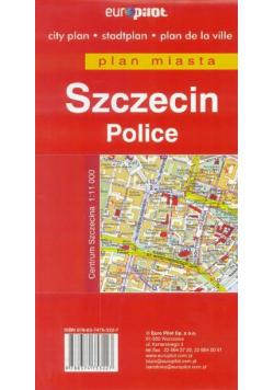 Plan miasta EuroPilot. Szczecin,Police 1:25 000 BR
