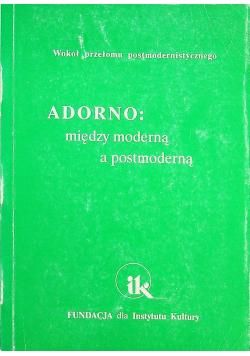 Adorno między moderną a postmoderną