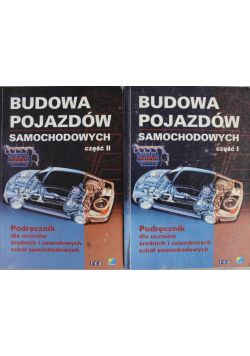 Budowa pojazdów samochodowych 2 tomy