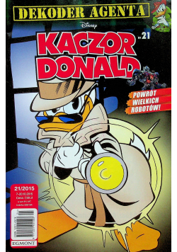 Kaczor Donald nr 21/2015