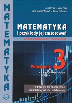 Matematyka i przykłady zast. 3 LO podręcznik ZPiR